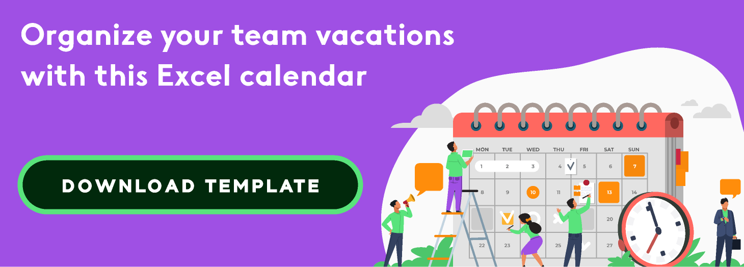 Excel Employee Time Off Tracker Template