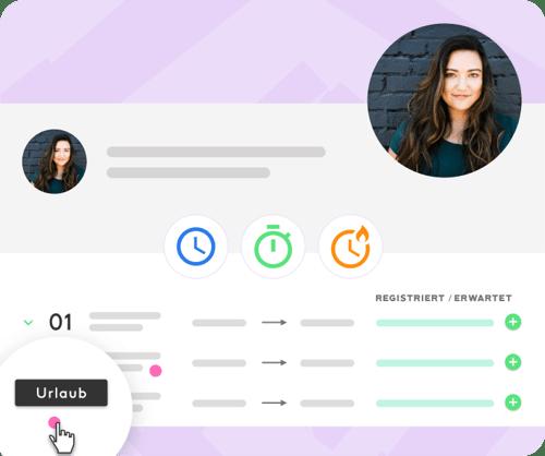 Mitarbeiter-Zeiterfassung-App