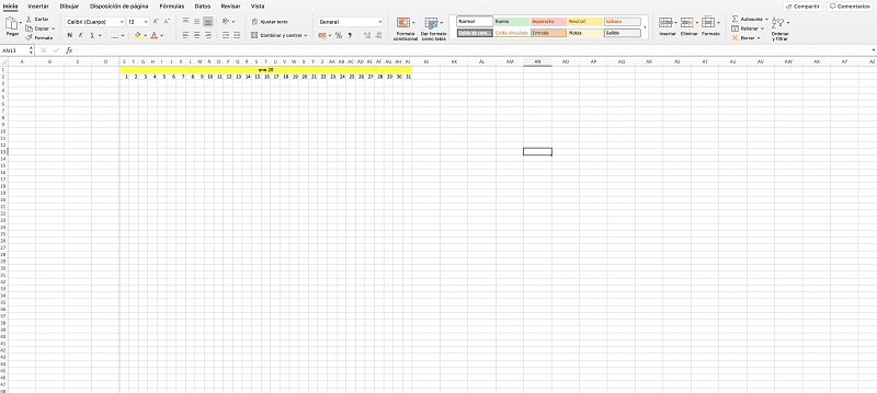 holiday tracker excel