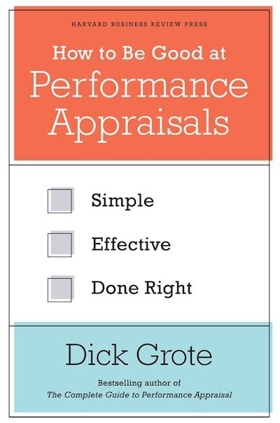 book how to be good at performance appraisals